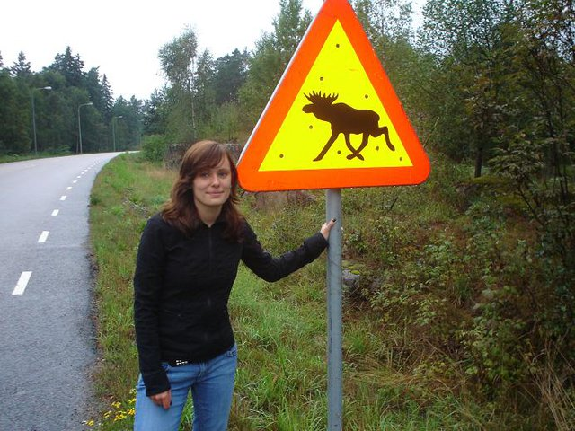Julia and the sign