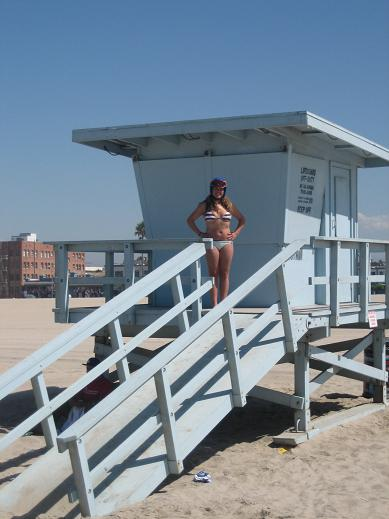 Lifeguard shack, OC moment