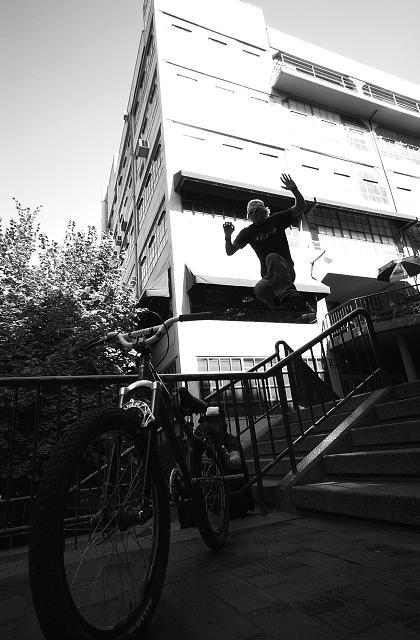 The john Wayne/gap to bike