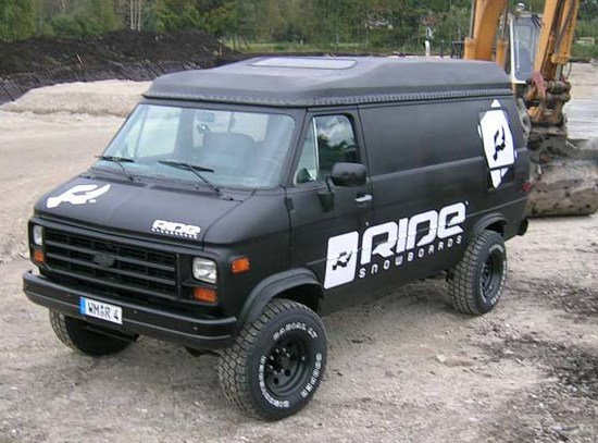Our new company car ;-)