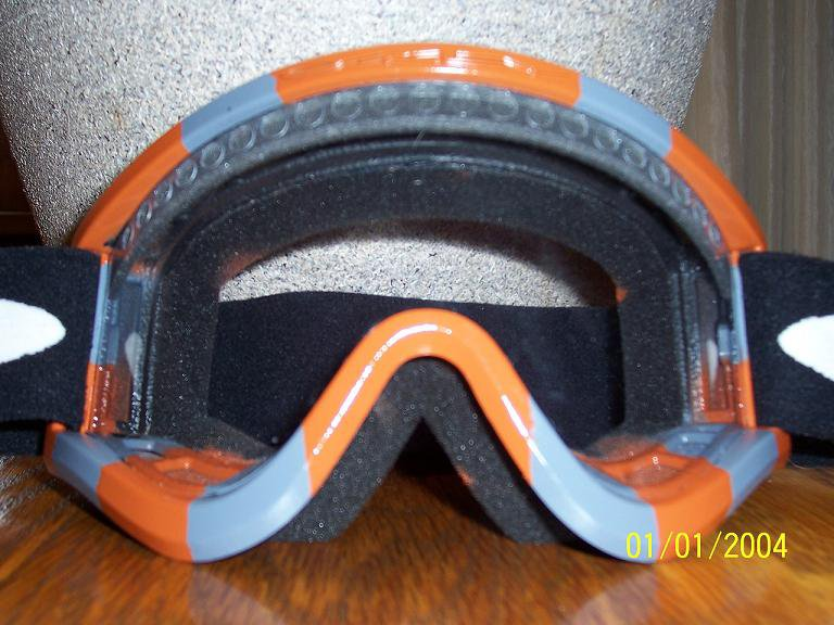 Self painted goggles 1