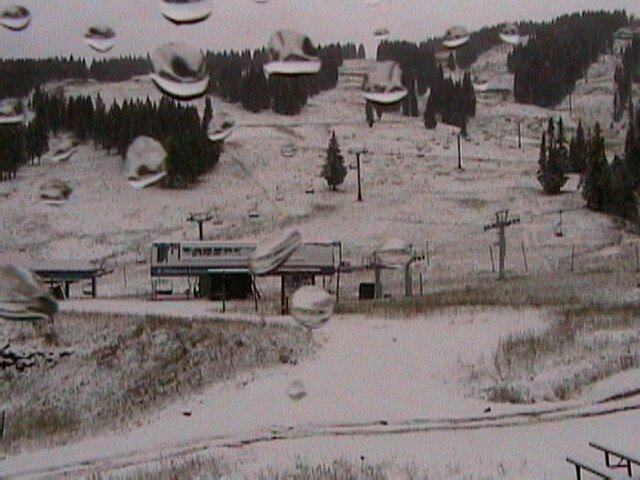 Vail Snow on Sept.16 2006