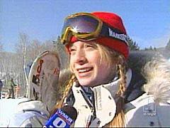 World Champion Mogul Skier