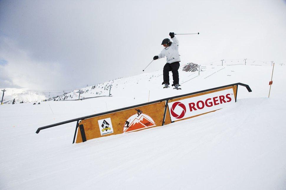 Matt doing a downrail