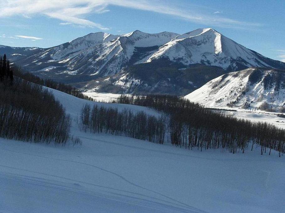 Peak looking from Crested butte