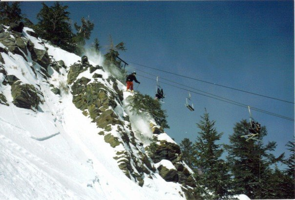 Lincoln Mountain Cliff Drop