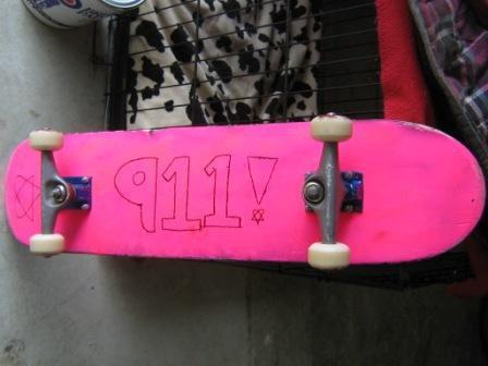 My CRAP skateboard