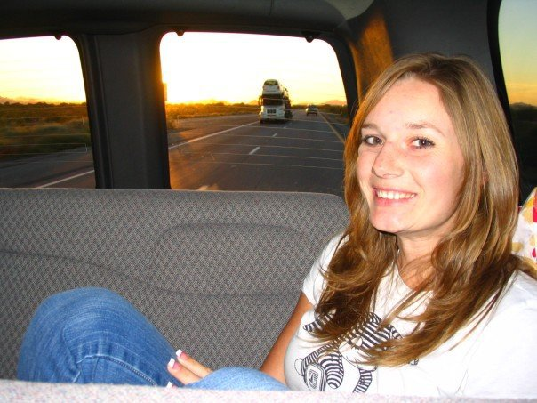On my way to Arizona