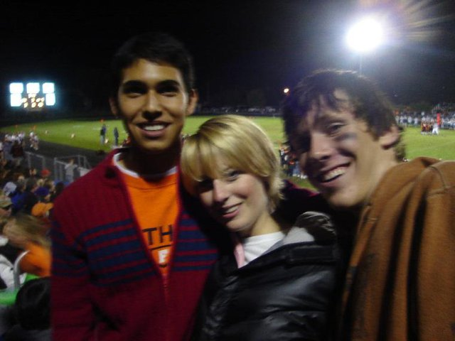 Football game with some pallies!
