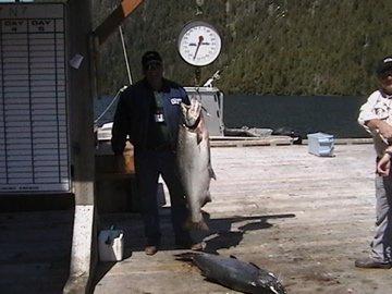 65lb salmon
