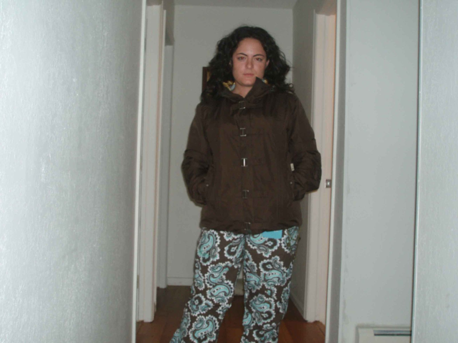 Me in my new ski outfit