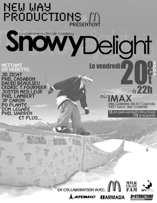 Snowydelight flyer