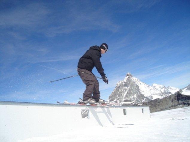 Sliding through Matterhorn