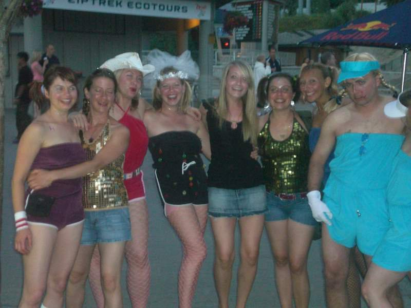 Bachelorette party in whistler, b.c.