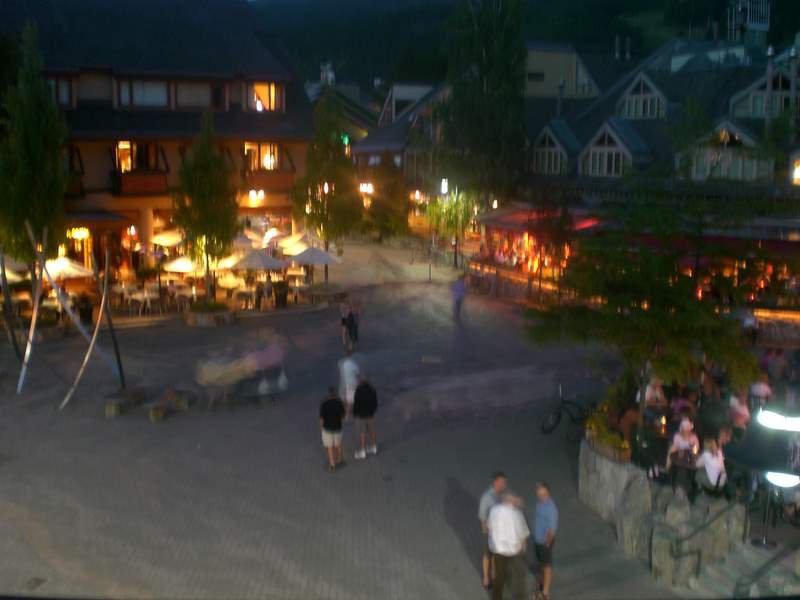 Whistler village square