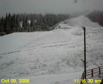 Pre season snow!!!!