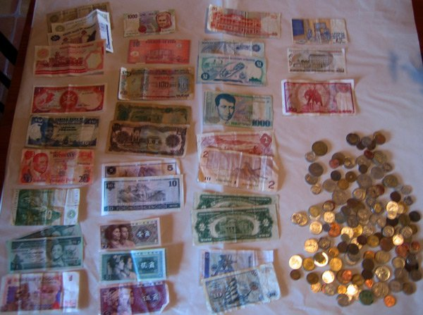 Foreign money
