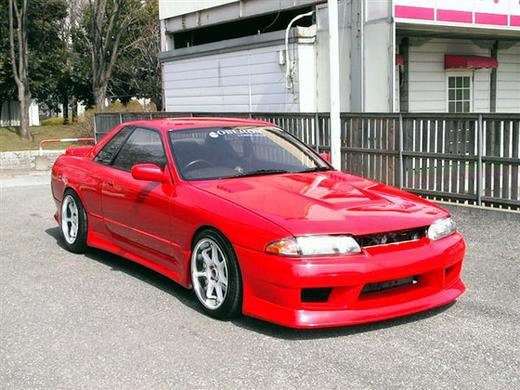 New car, Nissan Skyline GTS