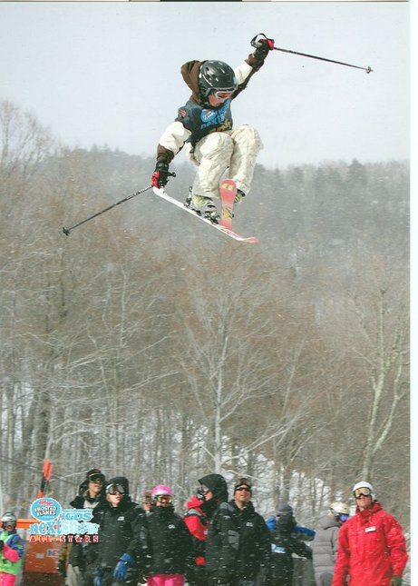 Nipples at NextSnow Killington Finals - Big Air