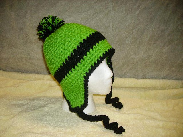 Lime green for customer