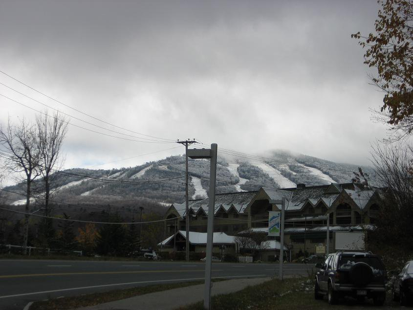 Killington got snow 10/21/06