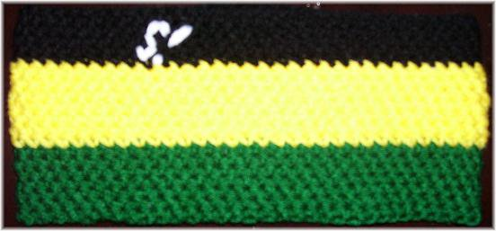 Jamaican Custom Sick! Headband