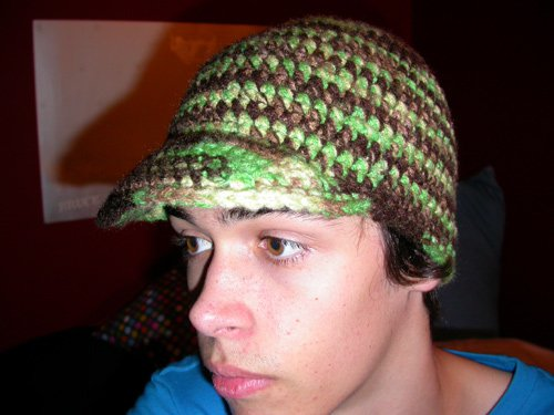 New Brim Hat