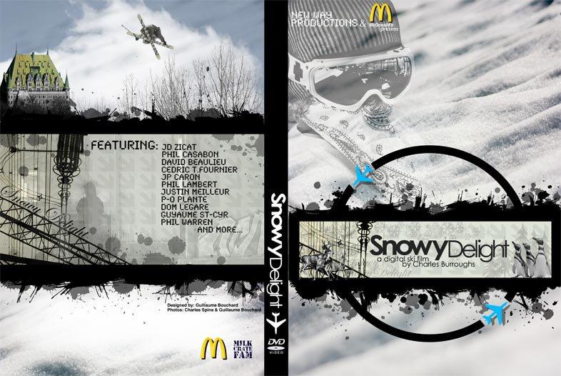 Snowy Delight DVD cover