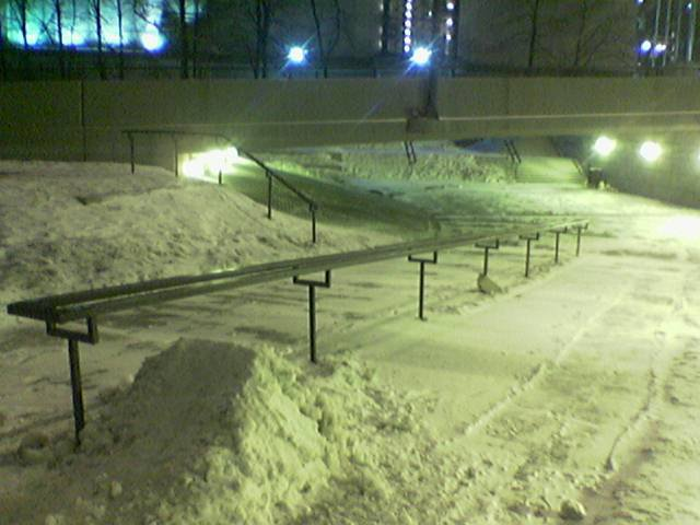 Ubran rail in my town
