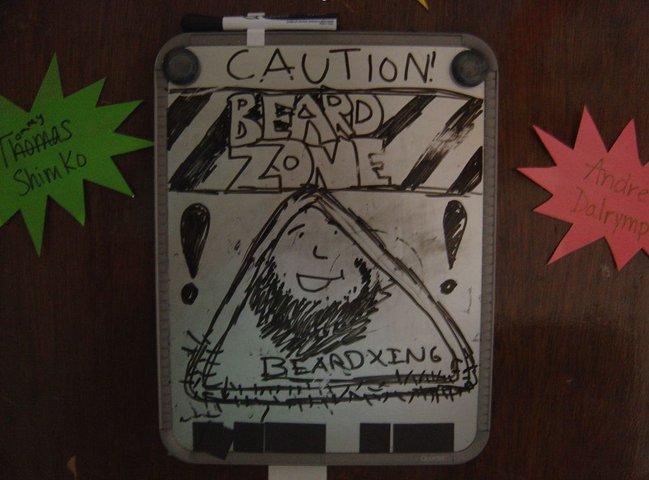 Beard zone