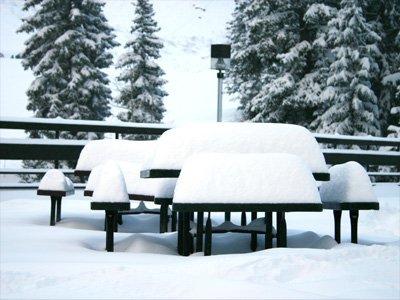 Alot Of Snow at Snowbird