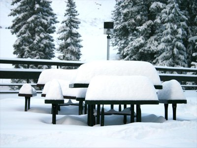 Alot Of Snow at Snowbird