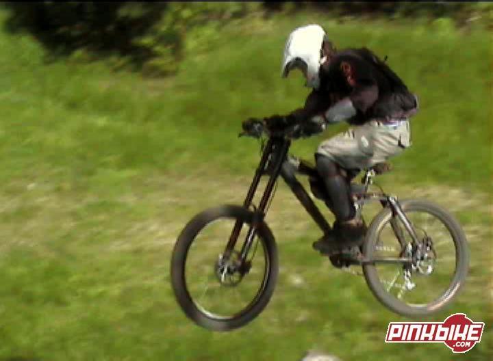 Me biking at highland