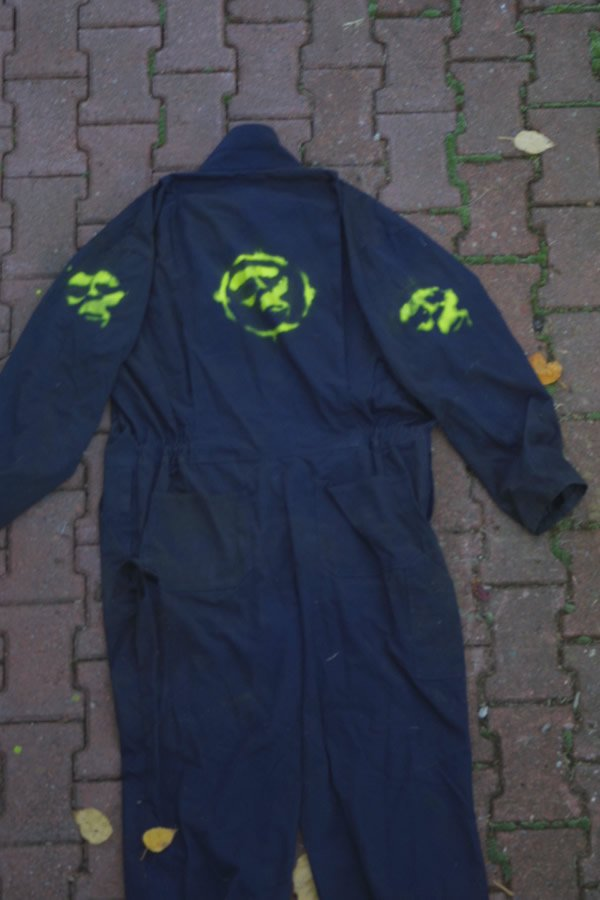 Yeti soldier costume