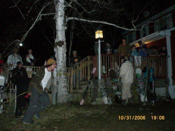 Halloween Rail Jam @ The Lodge