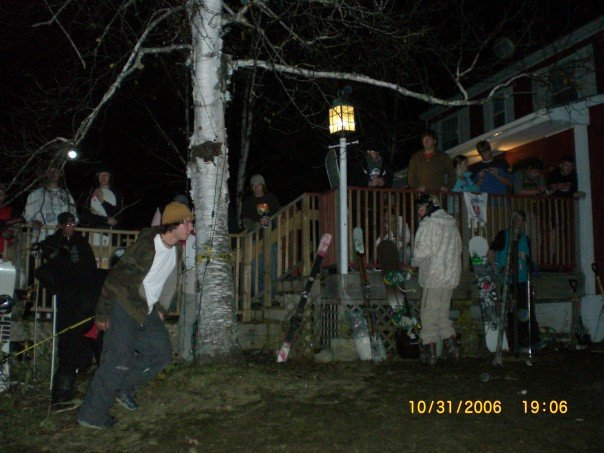 Halloween Rail Jam @ The Lodge
