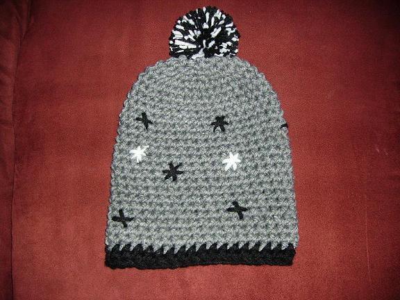 Custom hat for a customer dude