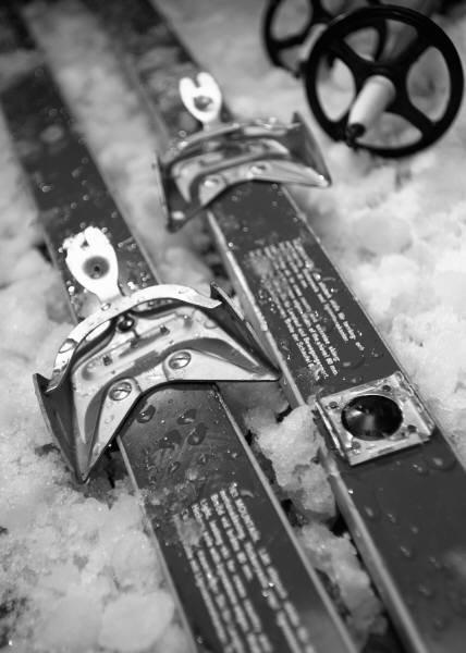 Old ski