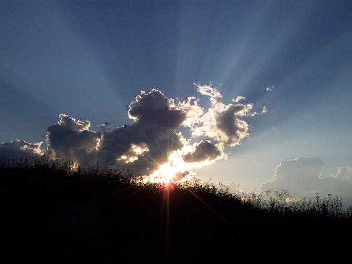 Sun Through the Clouds