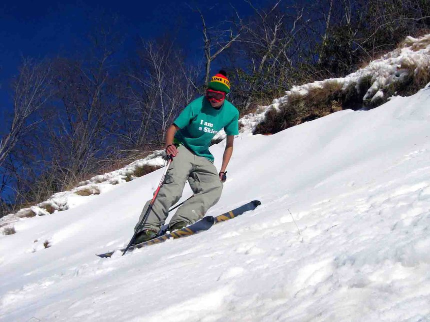 Really steep skiing in north carolina