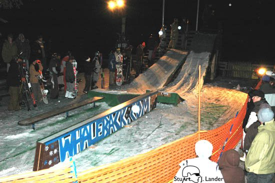 Whaleback On Deck Jibbing