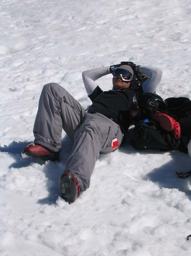 Hungover at 8500 ft