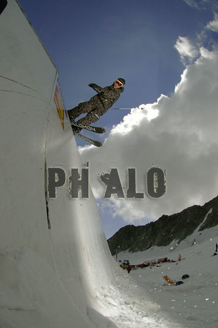 Nice Wallride in Sölden!
