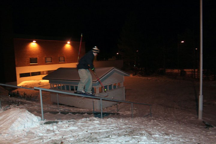First rails of this season