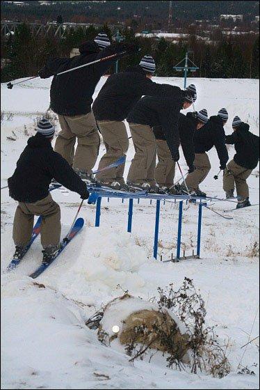 Preseason railing
