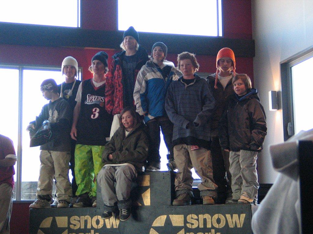 Snow park kids