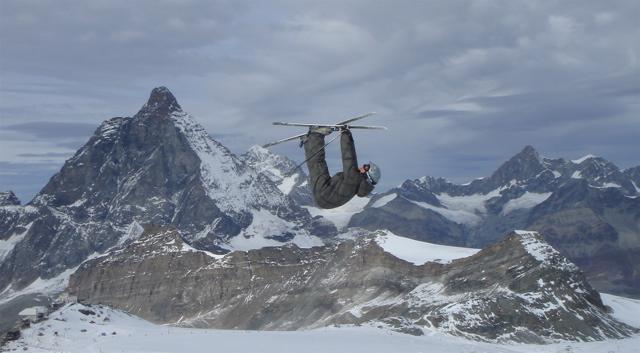 Cork 7 trukcer in Zermatt