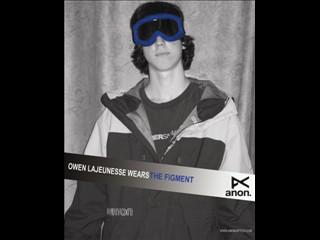 Owen lajeunesse wears the figment