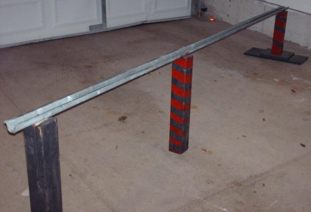 My homemade rail