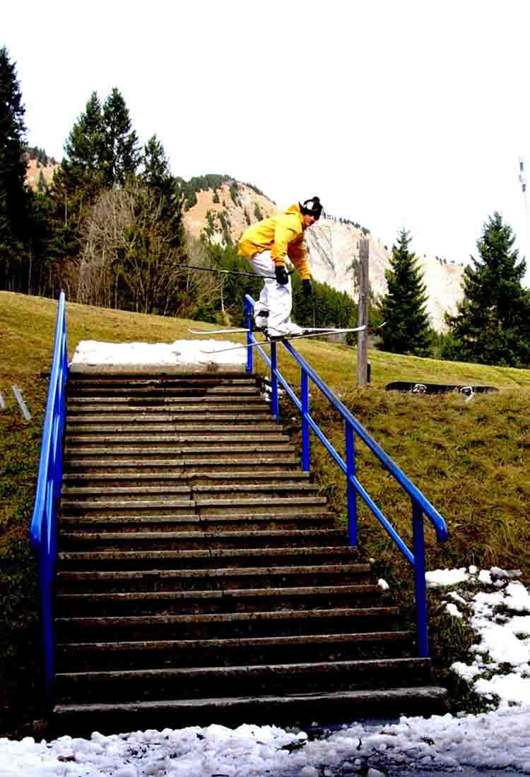 Handrail / Les Diablerets